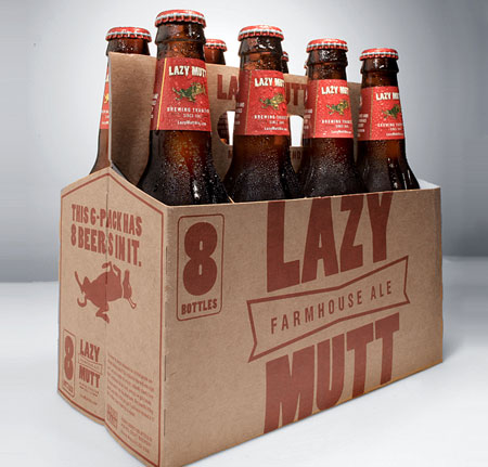 Lazy Mutt Farmhouse Ale