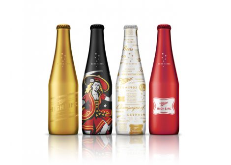 Miller High Life Alloy Bottles