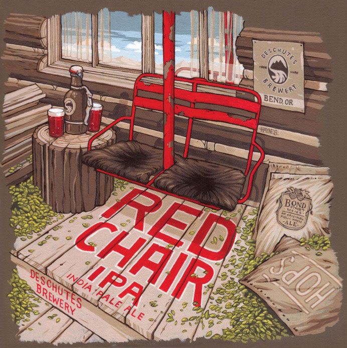 Deschutes Red Chair