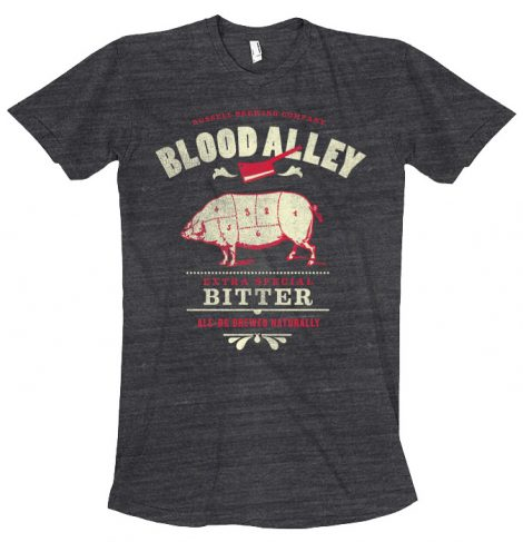 Russell Blood Alley Bitter Tshirt