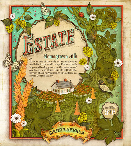 Estate Homegrown Ale
