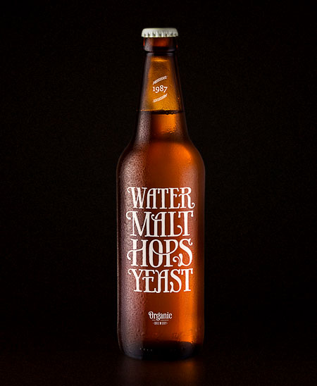 Water, Malt, Hops and Yeast