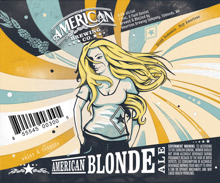 American Brewing Company Blonde