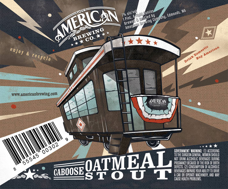 American Brewing Company Oatmeal Stout
