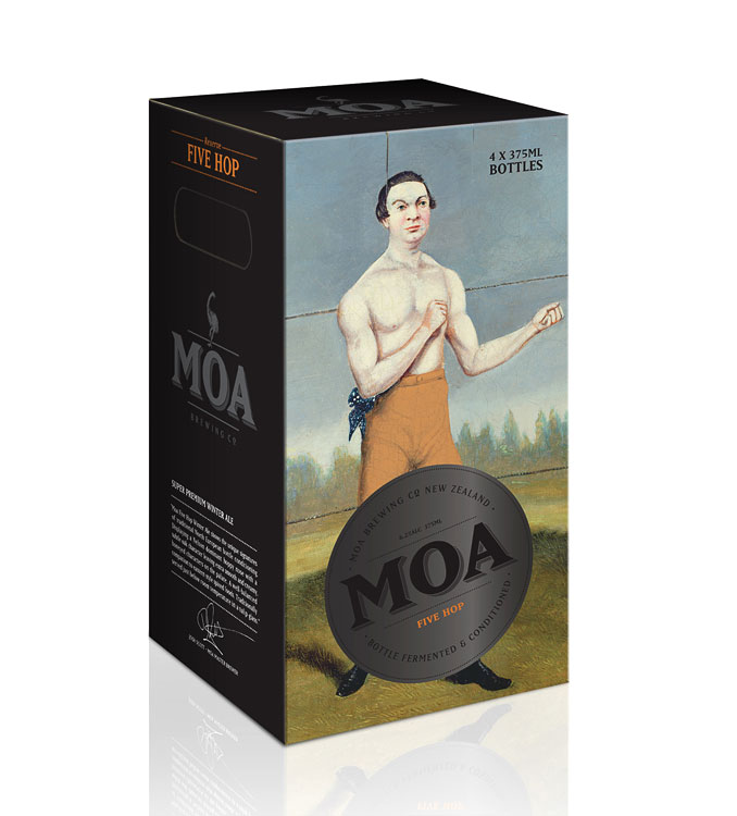 Moa Olympic Packaging