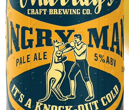 Murray's Angry Man Pale Ale