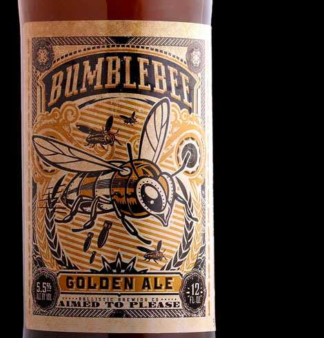 Ballistic Brewing Bumblebee Golden Ale