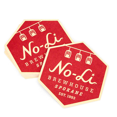 No-Li Brewhouse Coasters