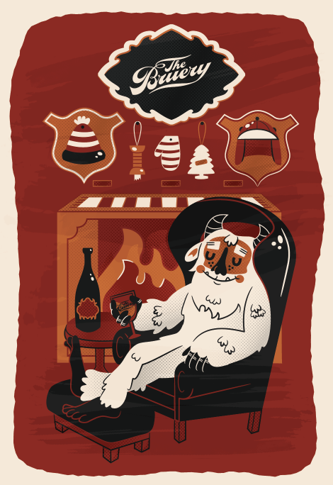 Bruery Seasonal Monsters Posters