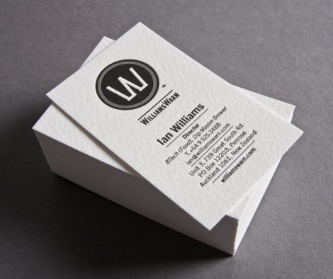 WilliamsWarn Business Card