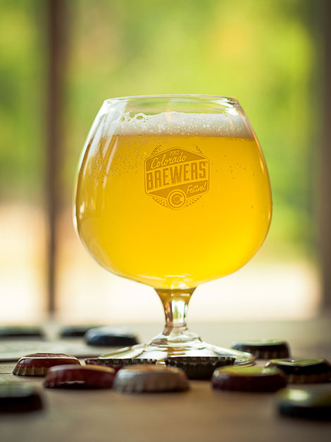 Colorado Brewers' Festival Glass