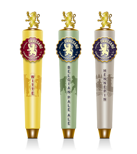 Brewery Ommegang Tap Handles