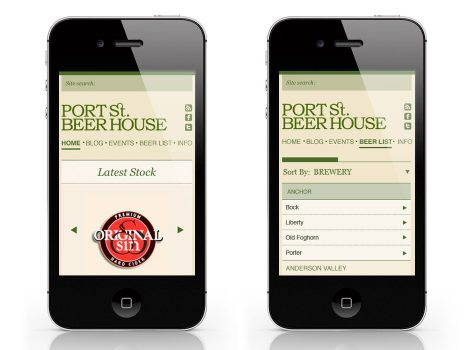 Port Street Beer House App