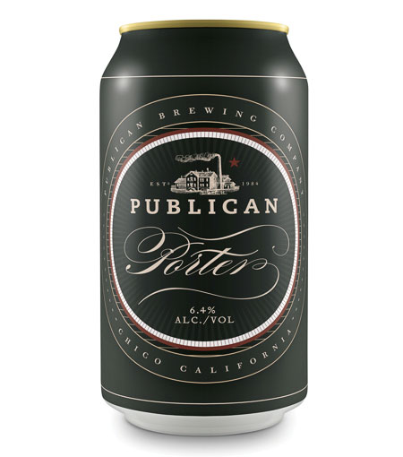 Publican Brewing Company Cans