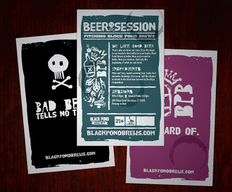 Black Pond Brews Posters