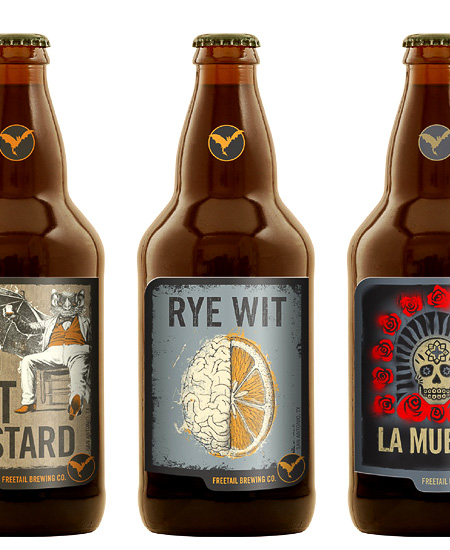 Freetail Brewing Bottles