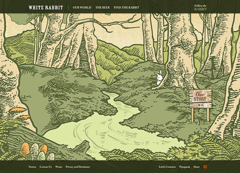 White Rabbit Brewery Website