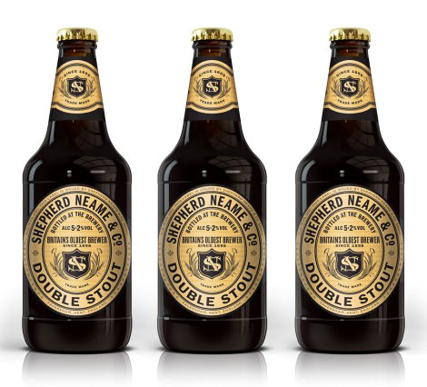 Shepherd & Neame Double Stout Bottles