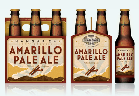 Hangar 24 Amarillo Pale Ale Six Pack
