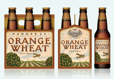 Hangar 24 Orange Wheat Six Pack