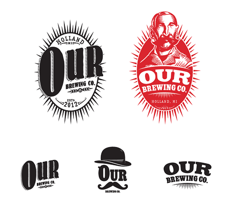 Our Brewing Co. Logos