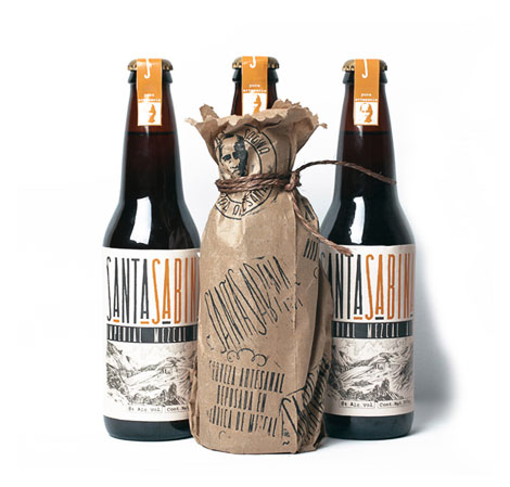 Santa Sabina Beer Packaging
