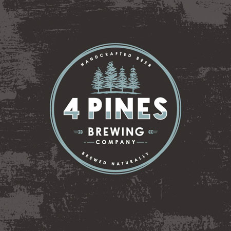 4 Pines Brewing Logo