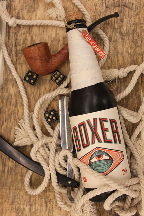 Boxer Lager Bottle