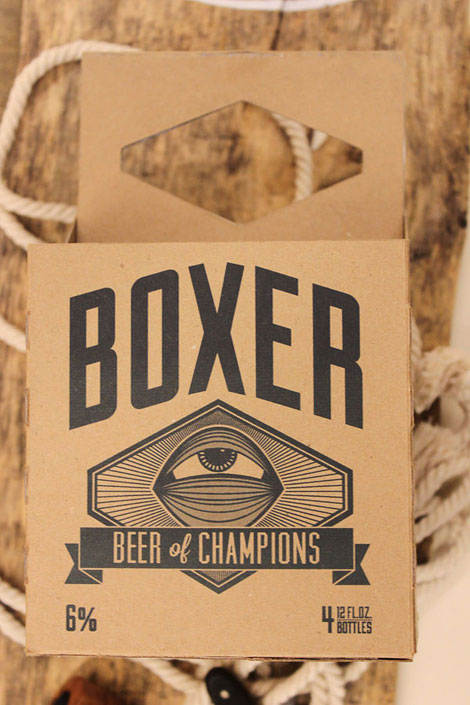 Boxer Lager Packaging