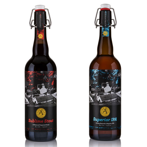 Fyne Ales packaging