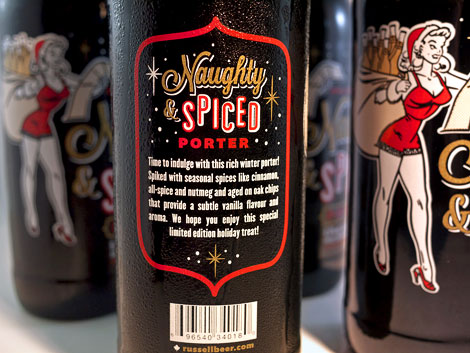 Russell Brewing Naughty & Spice Bottle