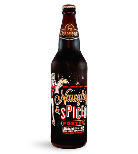 Russell Brewing Naughty & Spiced Bottle