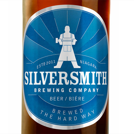 Silversmith Brewing Bottle