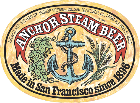 Anchor Steam Label
