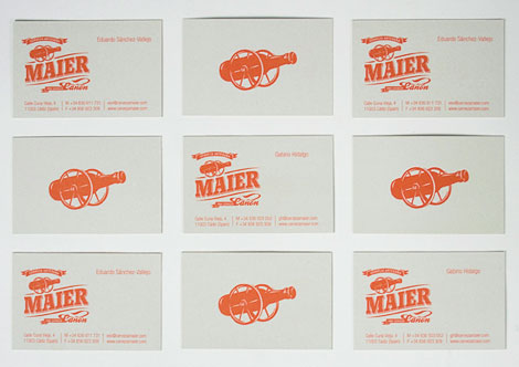 Cerveza Maier Business Card