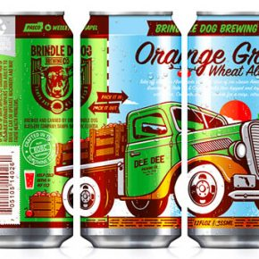 Brindle Dog Brewing Co. Can