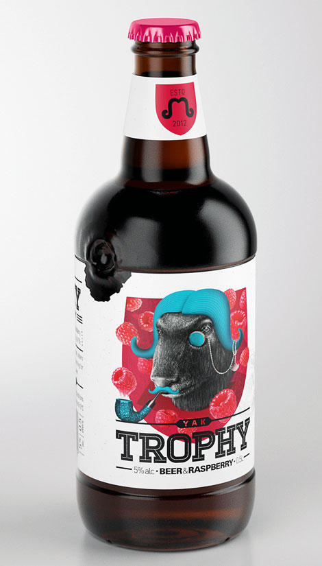 Trophy Beer Bottle