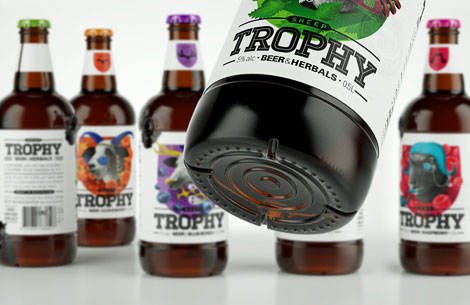 Trophy Beer Bottles
