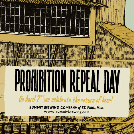 Repeal of Prohibition Poster