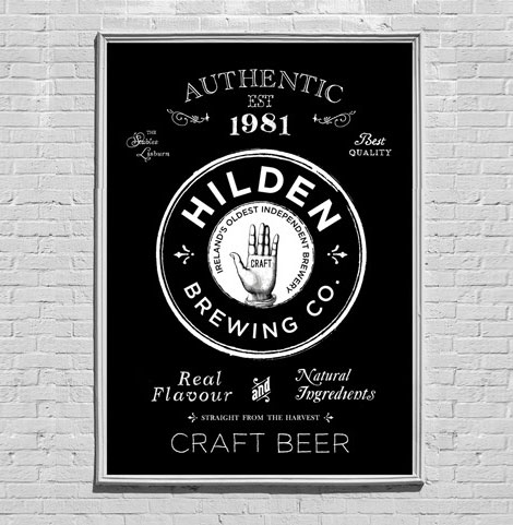 Hilden Brewing Co. Poster
