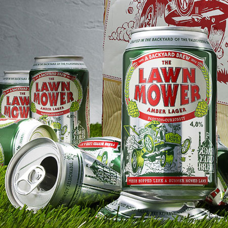 Lawnmower beer