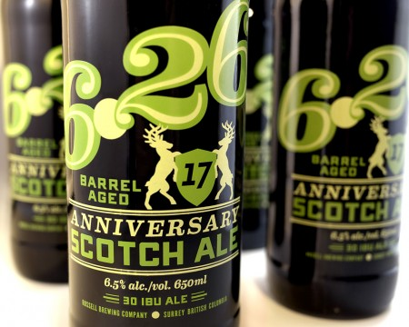 Russell 6.26 17 Anniversary Barrel Aged Scotch Ale