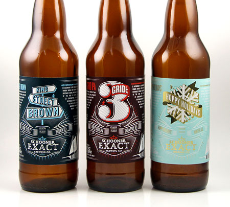 Schooner Exact Brewing Co. Bottles