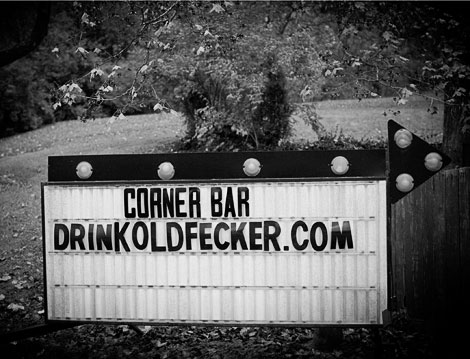 Bitter Old Fecker Sign