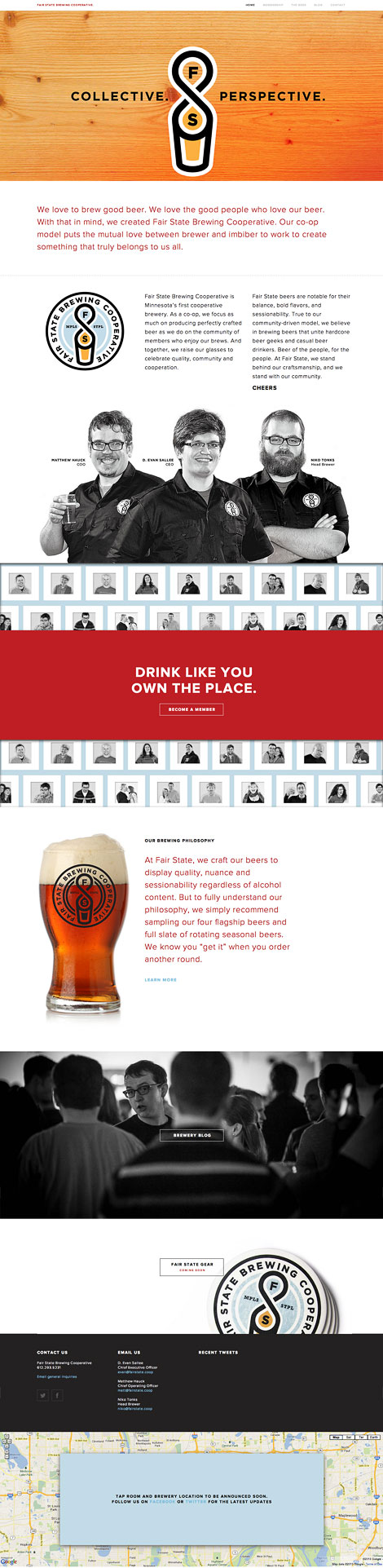 Fair State Brewing Cooperative Website
