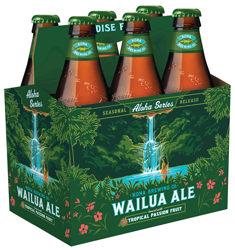 Kona Wailua Ale Packaging