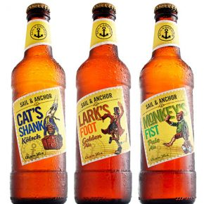 Sail & Anchor Bottles