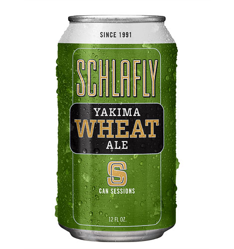 Schlafly Session Wheat Can
