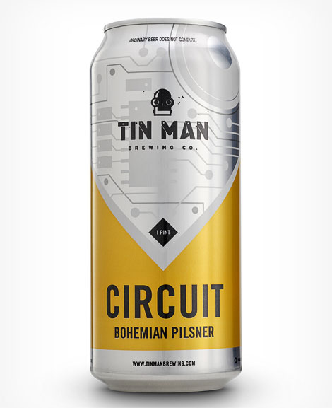 Tin Man Brewing Circuit Can