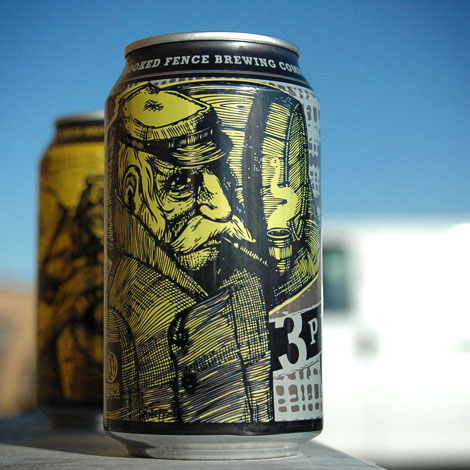 Crooked Fence Brewing Cans